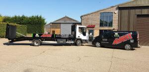 Avant Plant Hire Lorry and Van