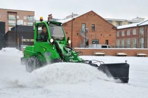 avant snow plow 3